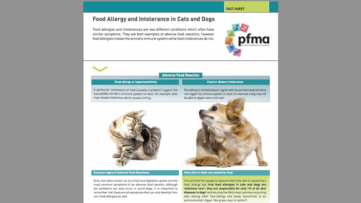 Are food allergies on the increase? Can vegetarian diets deliver complete and balanced nutrition to cats and dogs? PFMA's Veterinary Nutrition Experts have the answers