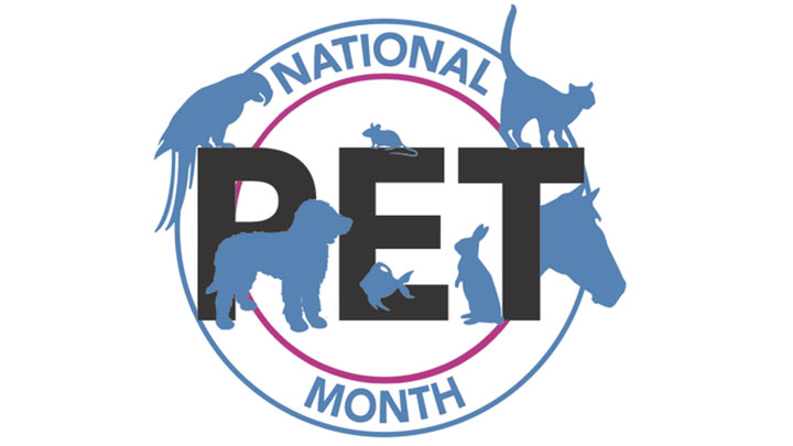 Pet fans of the UK unite!  National Pet Month April 1 - May 1 2017 - is almost here!